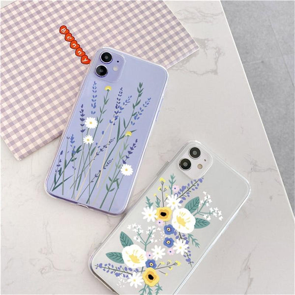 Luxury Fashion Cute Flower iPhone Case