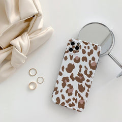 Shockproof Glossy Leopard iPhone Case