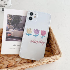 Tulip Vintage Flowers iPhone Case