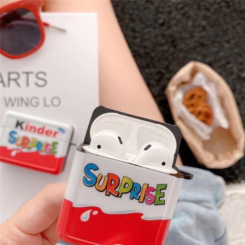 Funny Kinder Surprise Airpods Case