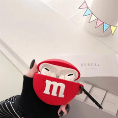 Chocolate M&M Beans AirPods Case