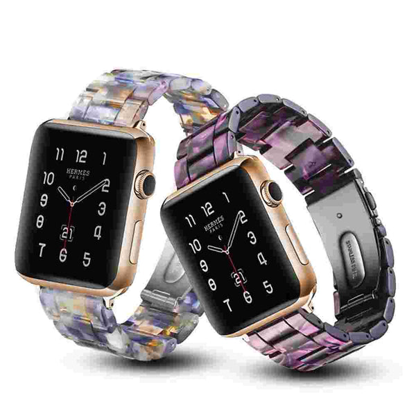 Resin Strap Apple Watch Bands