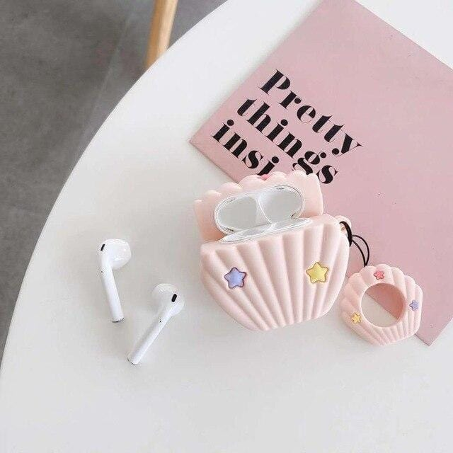 Star Shells Pearl AirPods Case