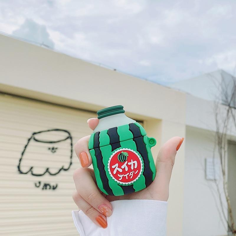 Watermelon Fruit Juice AirPods Case