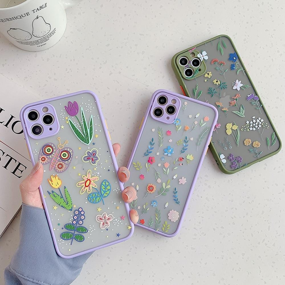 Luxury Cute Flower iPhone Case