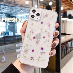 Real Dried Flowers iPhone Case