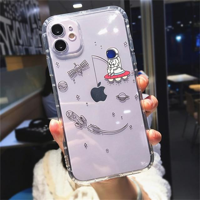 Creative Astronaut iPhone Case
