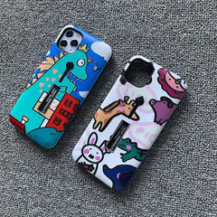 Cartoon Dinosaur iPhone Case