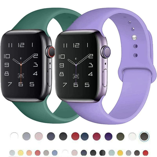 Silicone Strap Apple Watch Bands