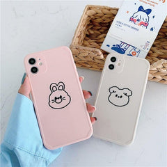 Lovely Cartoon Animals iPhone Case