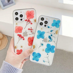 Real Dry Flower iPhone Case