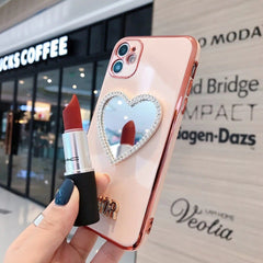 Luxury Mirror Crystal iPhone Case