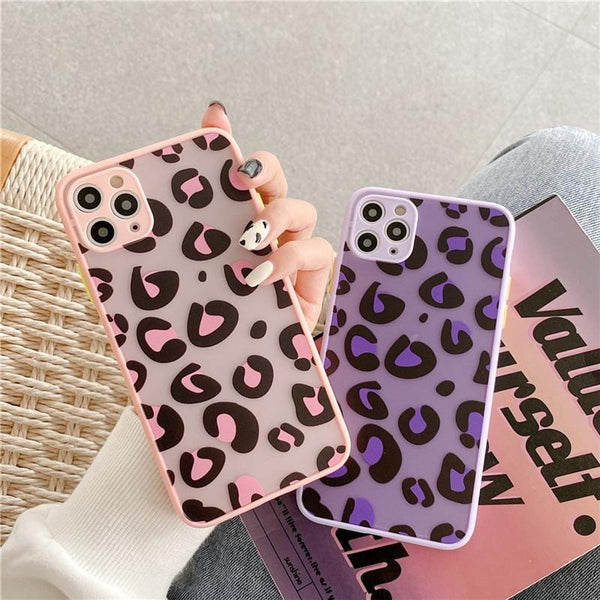 Fashion Leopard Shockproof iPhone Case