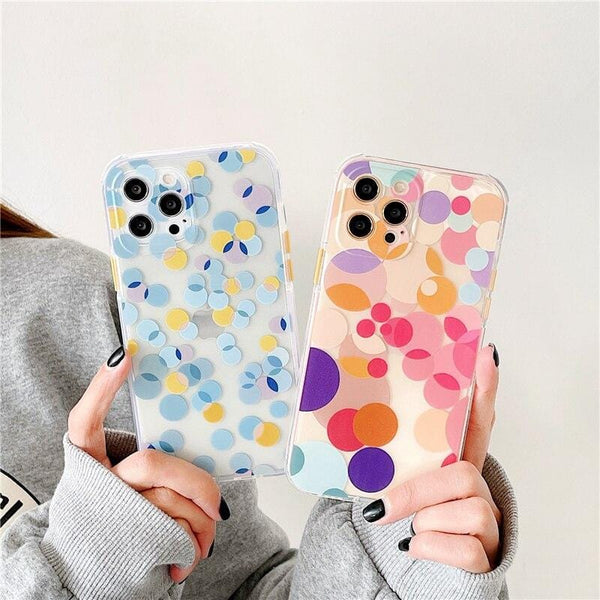 Cute Colorful Wave iPhone Case