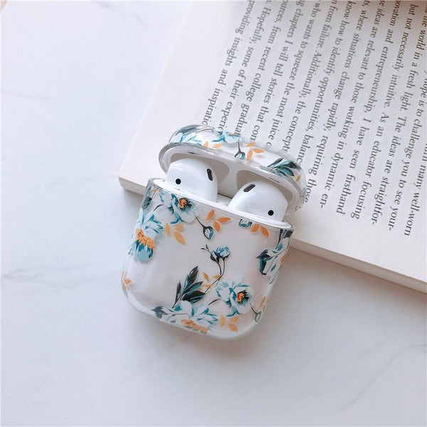 Watercolor Floral Apple Airpods Case