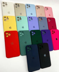 iPhone Camera Protection Silicone Cases