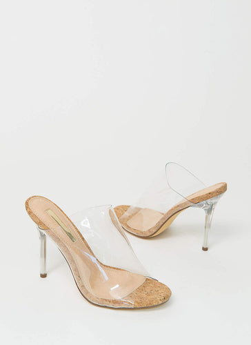 Never Basic Mule - Cork - Shoe Love True Love