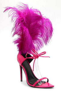 Social Plumage Heel - Pink - Shoe Love True Love