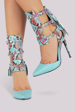 Load image into Gallery viewer, Nelly Bernal Dolores Pump - Blue - Shoe Love True Love