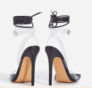The Influencer Heel - Black - Shoe Love True Love