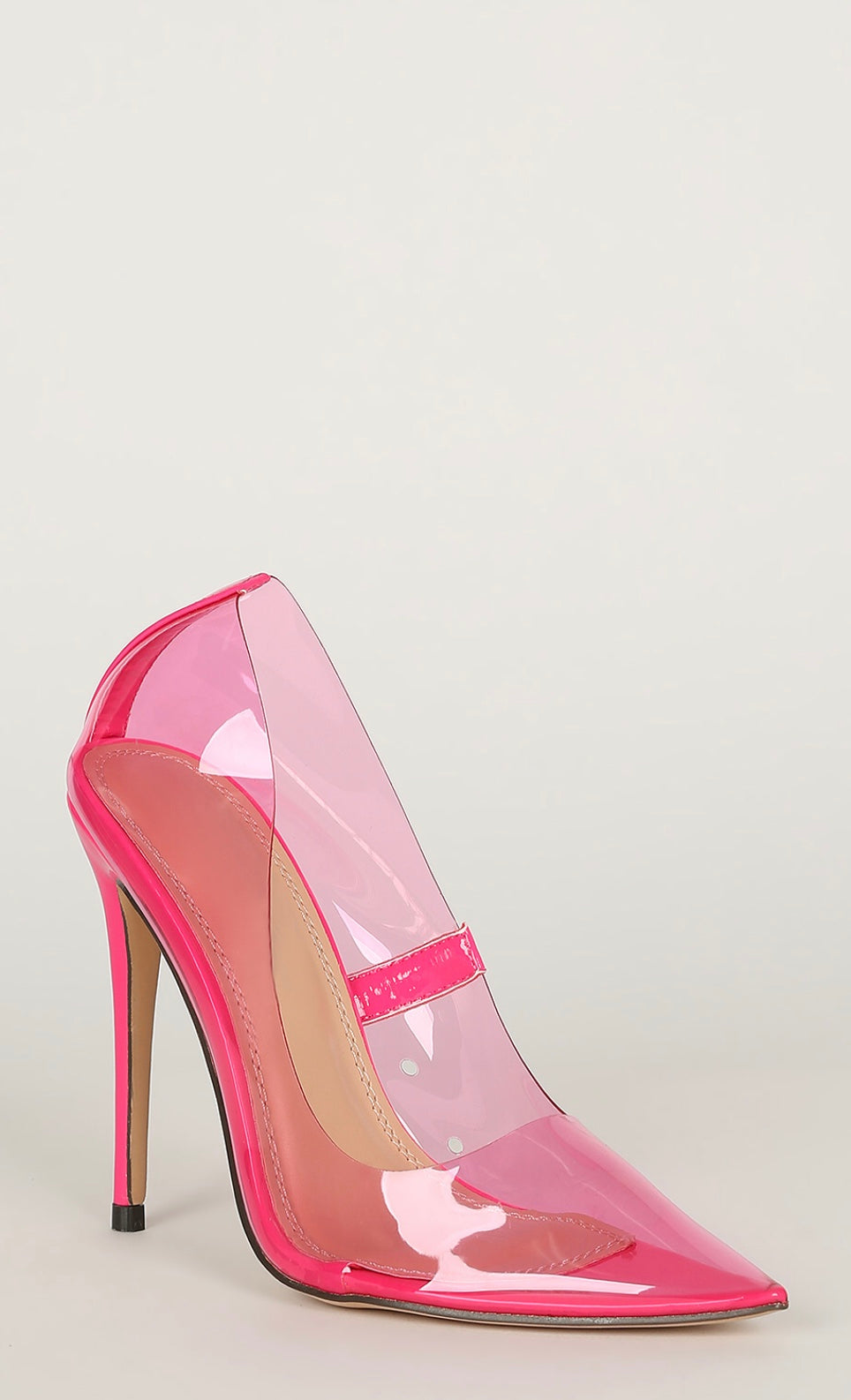 Highlighter Pump - Pink - Shoe Love True Love