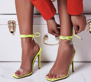 The Influencer Heel - Lime - Shoe Love True Love