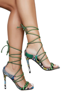Exotic Feels Heel - Multi - Shoe Love True Love