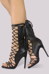 Nelly Bernal Paris Heel - Black - Shoe Love True Love