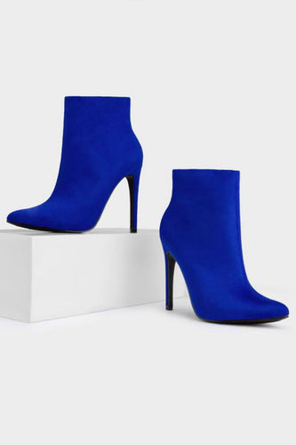 Blogger Bootie - Blue - Shoe Love True Love