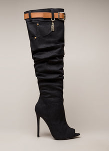 So Iconic Boot - Black - Shoe Love True Love