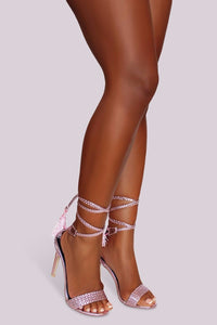 Braided Beauty Heel - Pink - Shoe Love True Love