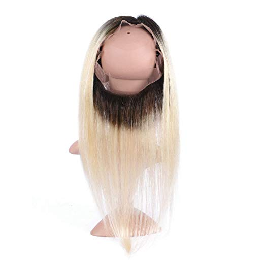 360 lace frontal lisse blonde 1b 613 silky straight naylisshairparis