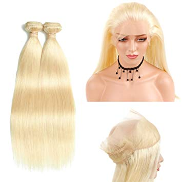 lot de 2 tissages bresiliens lisse 360 lace frontal blonde 613 silky straight naylisshairparis-min
