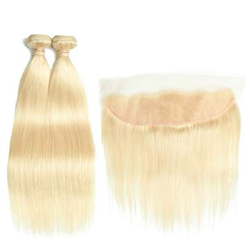 lot de 2 tissages bresiliens lisse lace frontal blonde 613 silky straight naylisshairparis-min