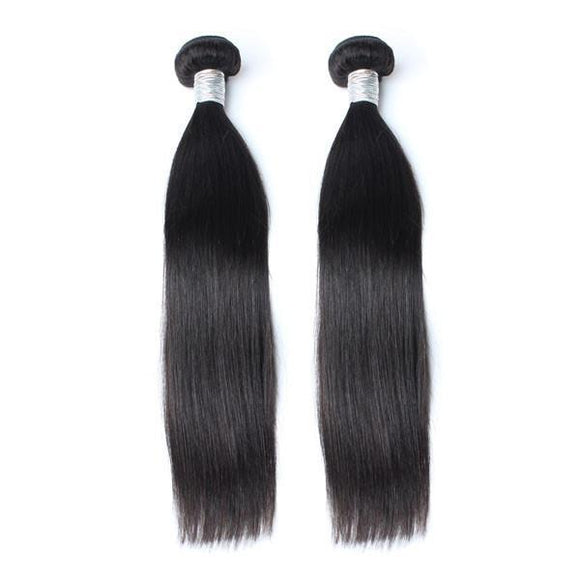 lot de 2 tissages bresiliens lisses black silky straight hair naylisshairparis-min