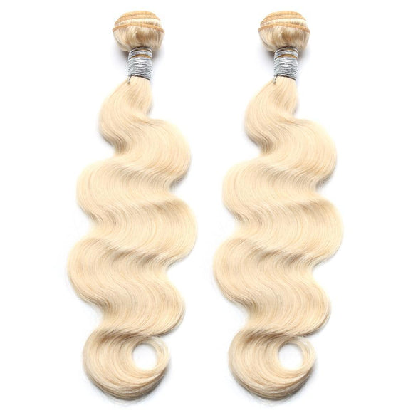 lot de 2 tissages bresiliens ondules blonde 613 body wave hair naylisshairparis