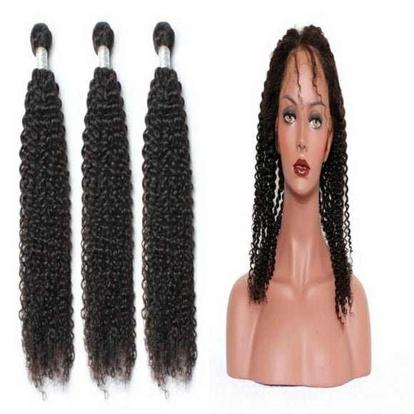 lot de 3 tissages bresiliens boucles crepu 360 lace frontal black kinky curly naylisshairparis-min