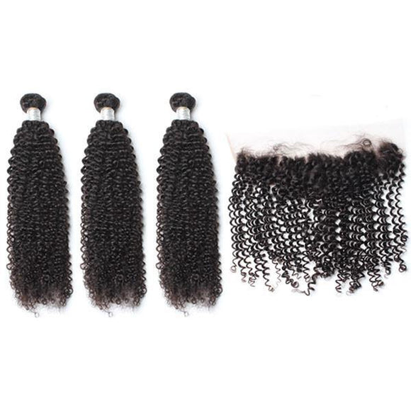 lot de 3 tissages bresiliens boucles lace frontal black kinky curly hair naylisshairparis-min