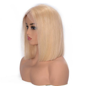 perruque naturelle lisse blonde 613 bob wig naylisshairparis