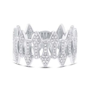 14k White Gold Diamond Lady's Ring - 0.31ct
