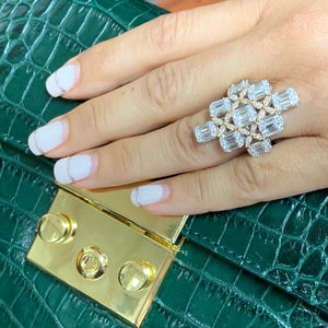Gorgeous Baguette Lady's Ring