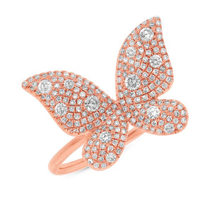 Gorgeous Butterfly Lady's Ring