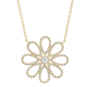 Flower Diamonds Necklace