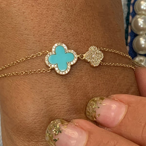 Beautiful Tiny Turquoise Bracelet