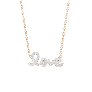 Love Design Necklace