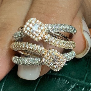 Two Tone Lady's Ring