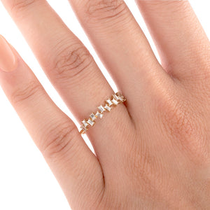 Baguette Lady's Ring