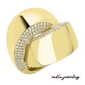 14K Yellow Gold Lady's Ring