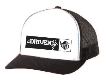 aDRIVENlife Blocked Out Trucker Hat