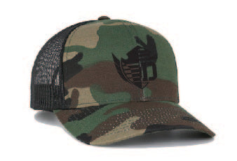aDRIVENlife Untamed Camouflage Trucker Hat